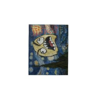 Rage Face Meme Face Comic Classy Painting Jigsaw Puzzles