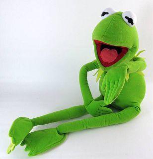 Poseable Jim Henson Muppets Plush KERMIT THE FROG Stuffed Toy Animal
