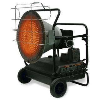 MI T M Kerosene 125 000 BTU Radiant Portable Space Heater MH 0125 2M1R