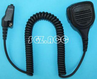 Duty Hand held Shoulder Mic Speaker For Kenwood Radio TK 5310G TKR830