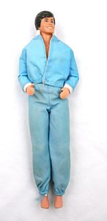 Twist and Turn Ken Barbie Doll in Blue Windsuit