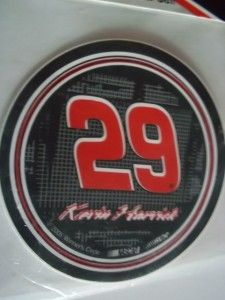NASCAR Kevin Harvick 29 3 PC Decal Race Car Sticker