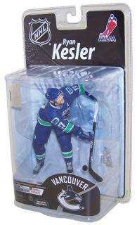 Toy Action Figure NHL Sports Picks 26 Ryan Kesler Blue Jersey