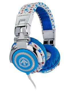 Aerial 7 Tankevilmkii Tank Evil MKII Red White Blue DJ Headphones