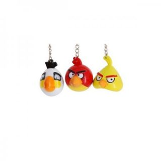 BIRDS 6 key rings cell phone strap lanyard KEYCHAINS backpack ring