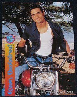 Kevin Richardson Pinup on Motorcycle Popstar New
