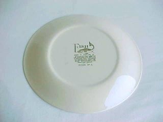 Vintage Johnson Bros Fish Plate Design 5