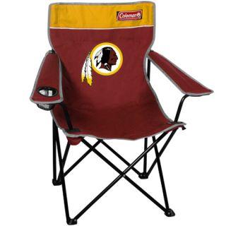 Coleman Washington Redskins Burgundy Gold Quad Folding Chair