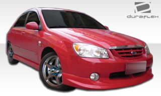 2005 2006 Kia Spectra Duraflex Shadow Front Lip Spoiler Body Kit