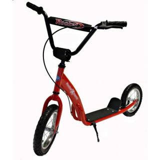 Kids Rocket Xtreme Retro BMX Push Kick Scooter Pro Stunt Girls Boys