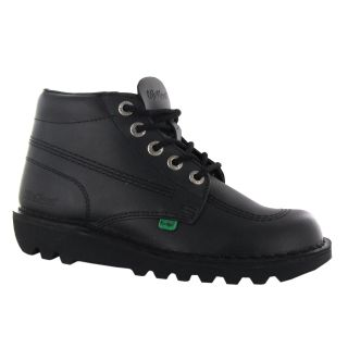 Kickers Kick Hi M Core Black Leather Mens Boots