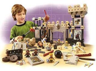 Fisher Price Trio Kings Castle Building Blocks Kids Toy