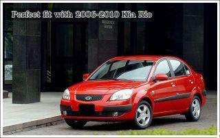 06 09 Kia Rio RIO5 Chrome Door Handle Cover 8pcs Kit