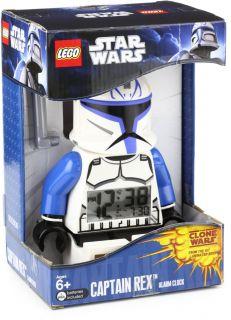 Lego Kids 9003936 Captain Mini Figure Alarm Clock