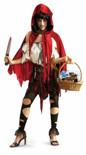 Little Dead Riding Hood Adult Red Costume Extra Small
