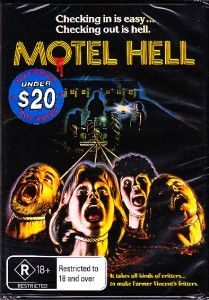 Motel Hell New and SEALED DVD