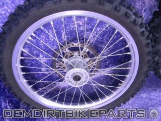 Yamaha YZ450F Excel Wheel Set Front Rear Rim 2000 2008 YZ125 YZ250
