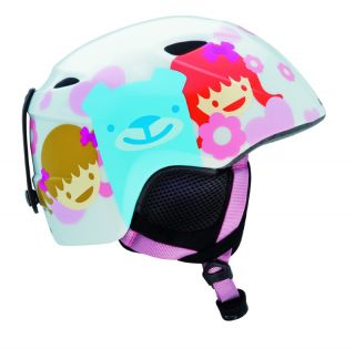 Giro Slingshot White Happy Girl Kids Snowboard Ski Helmet Child Youth