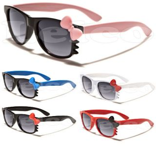 Hello Kitty Kids Sunglasses w Bow Whiskers Children Age 1 5 Baby