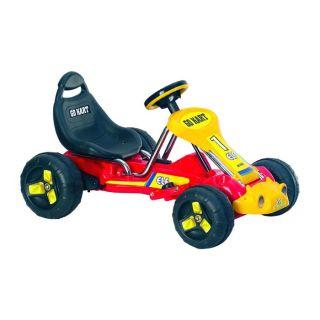 Kids Battery Power Go Kart Ride on 4 Wheels Toddler Go Kart Race Car