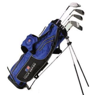 US Kids Golf Tour Series Orange 5 Club Set w Bag 51 35