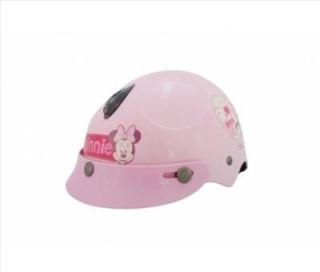 Disney Minnie Kids Motor Bike Helmet Pink