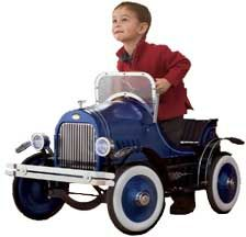 Pedal Car Roadster Blue KL 8014 Go Cart Style Ride on Special Series