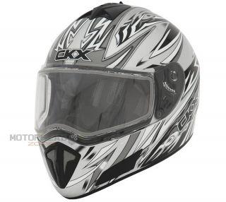 Helmet Full Face Small Kimpex CKX RR700 Blizzard Silver