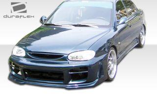 1998 2001 Kia Sephia Duraflex R34 Front Bumper Body Kit