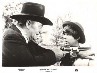 John Wayne Kim Darby True Grit Original vint 1969