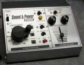 MRC Sound Power 7000 Model Railroad Control Panel HO O N G Scale Train