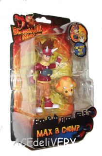 Dinosaur King Max Chomp Poseable Action Figures New