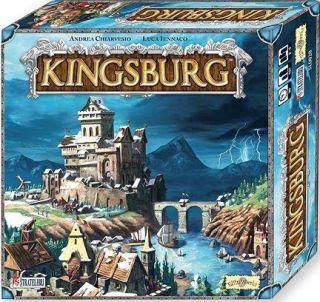 Kingsburg Kings Burg Board Strategy Game New