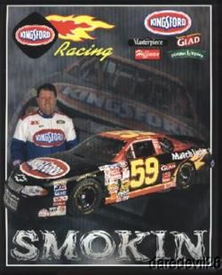 2001 Rich Bickle Kingsford 1st issued Chevy Monte Carlo NASCAR