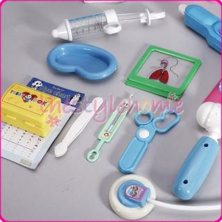 Educational Kids Toy Medical Kit Doctor Nurse Role Play Set Creative