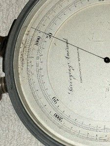 Surveying Aneroid w L E Gurley Barometer Altimeter London