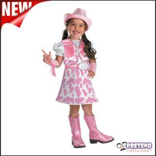 Kids Wild West Cow Girl Girls Jessie Toy Story Toddler Childs