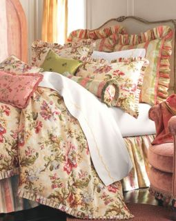 Rose Tree Floral Design Oversize Overstuffed Bedding Set King