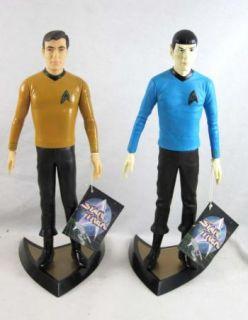 Star Trek Captain Kirk Spock Action Figures Presents