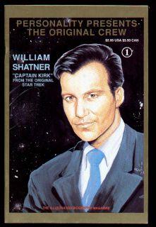 William Shatner Capt Kirk Star Trek Original Crew 1