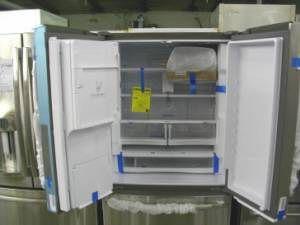 GE Profile Stainless French Door Refrigerator Freezer