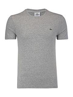 Lacoste Classic crew neck T shirt Light Grey