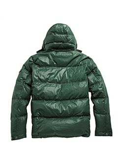 Racing Green Quilted Jacket Green