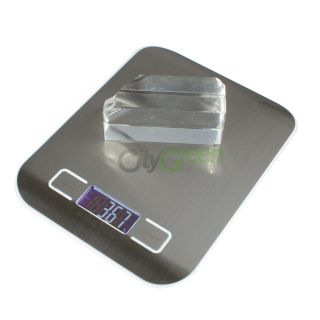 Digital LCD Electronic Kitchen Weight Scale Diet Food G oz Lb