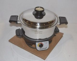Kitchen Craft All Purpose 4 Quart Gourmet Cooker with Americraft Base