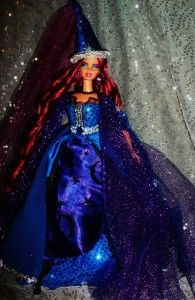Fantasia Wizard Sorceress Beauty OOAK Barbie Doll Magic
