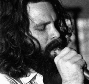 RARE 1971 White LBL Promo Window Cov The Doors La Woman Psych Blues