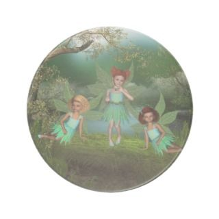 Flutter Fairy Pixie Dust Coaster