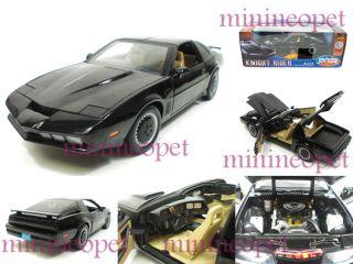 Ertl Knight Rider Kitt Pontiac Firebird Trans Am 1 18