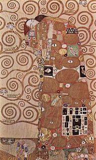 Deeva Gustav Klimt The Kiss Silk Canvas Jacket OSFA Size XL or 1x Art